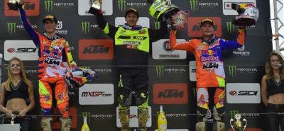 Jeremy Seewer remporte le Grand Prix de Suède :: MX2-MXGP Uddevalla