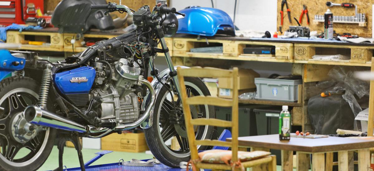 Rideshaper, un garage participatif où l'on peut aussi préparer ses voyages