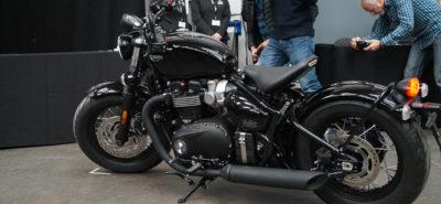 Le Bobber Black, plus sombre, plus aggressif, plus fort. Plus tout quoi! :: Nouveauté Triumph