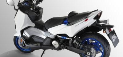 Le TL, un maxi-scooter avec un nouveau moteur bicylindre chez Sym :: Concept - nouveauté 2019