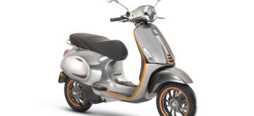 Piaggio montre enfin la vraie Vespa Elettrica, équivalent amélioré d'un 50 cc