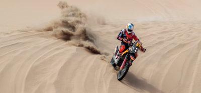 Sunderland remet les pendules à l'heure dans la troisième étape du Dakar :: Rallye-raid 2018