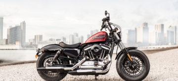 Voici la Harley-Davidson Forty-Eight Special, à la déco tout droit sortie des Seventies