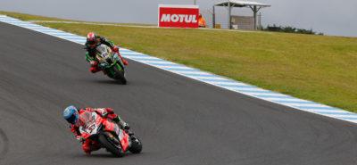 Marco Melandri remporte la 1re course de la saison :: Superbike Phillip Island