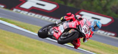 Marco Melandri réalise le doublé en Australie… D'un souffle! :: Superbike Phillip Island II