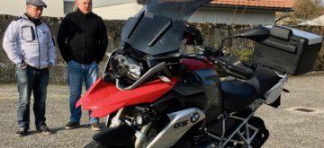 Jean Szabo, pilote actumoto.ch, prêt à partir pour le rallye tunisien du Moto Tour Series