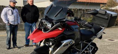 Jean Szabo, pilote actumoto.ch, prêt à partir pour le rallye tunisien du Moto Tour Series :: Rallye routier