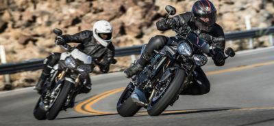 Une mise à jour majeure pour la Speed Triple S. Et un bonus nommé RS! :: Triumph