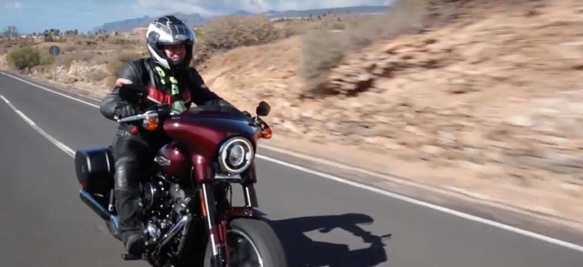 La nouvelle Harley Sport Glide en test à Ténériffe