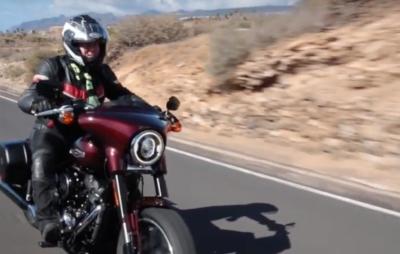 La nouvelle Harley Sport Glide en test à Ténériffe :: Nouveauté 2018