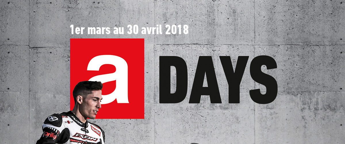 Aprilia Days 2018, c'est parti!