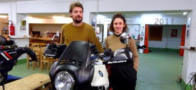 Un couple de Lausannois entame une épopée moto entre la Suisse et Singapour :: Voyage et aventure