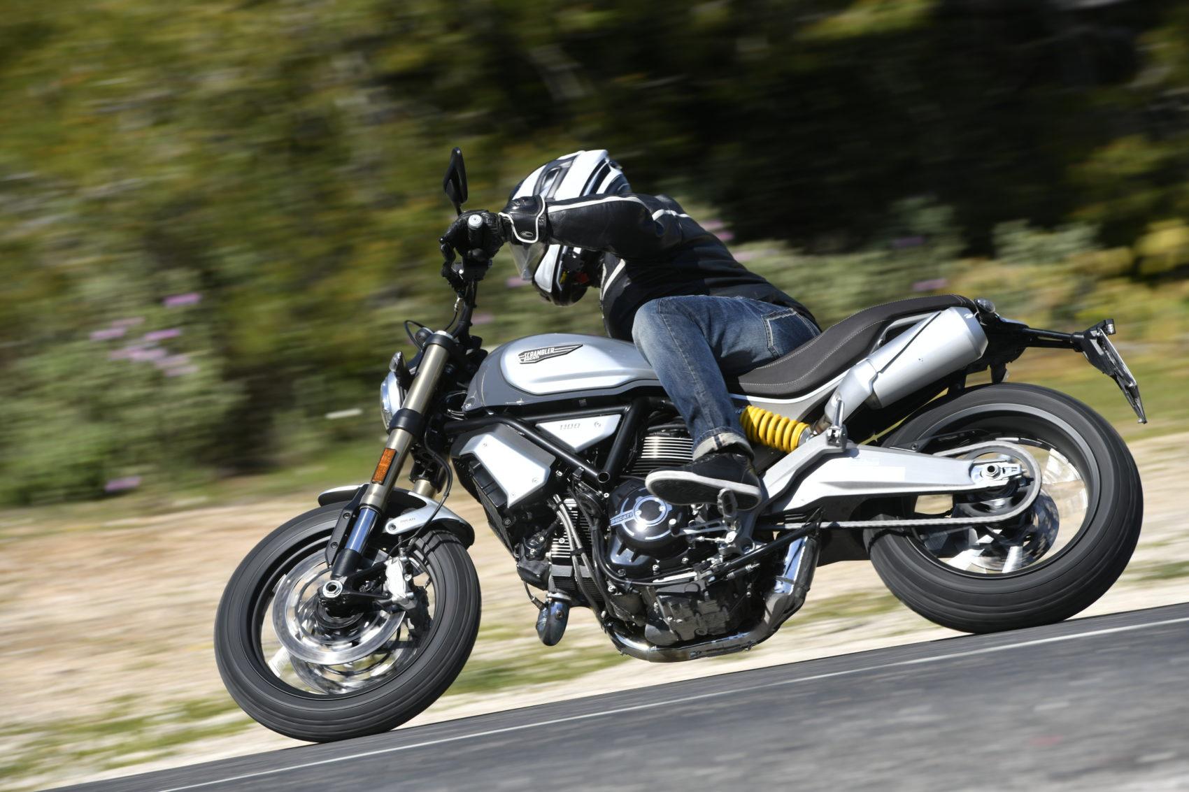 Scrambler Ducati 1100, c'est son moteur