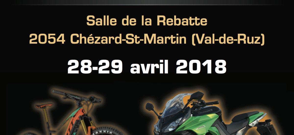 Le plein d'essais moto et scooter les 28 et 29 avril à Chézard-St-Martin (NE)