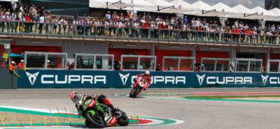 Jonathan Rea, «joue-la comme Foggy» :: Superbike Imola course 2