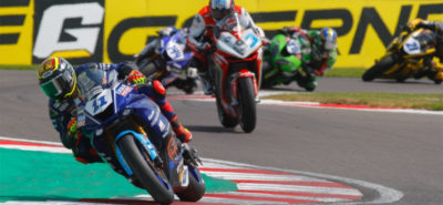 Cortese gagne avec panache. Krummenacher finit au pied du podium! :: Supersport
