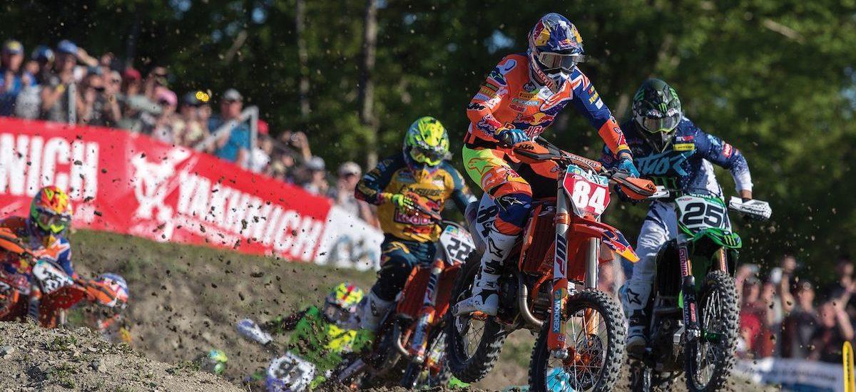 Début du mondial motocross repoussé en juin
