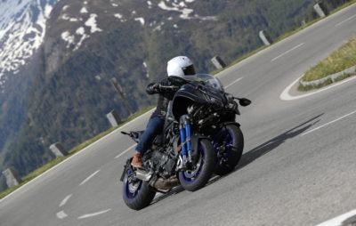 La Yamaha Niken, un OVNI à trois roues sur les pentes autrichiennes :: Test Yamaha