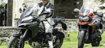 La bataille des voyageuses, Multistrada 1260 contre Tiger 1200 :: Comparo enduros voyage 1000