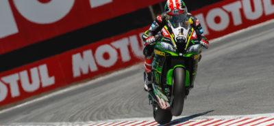 Jonathan Rea chapeaute un podium britannique à Laguna Seca :: Superbike US Round