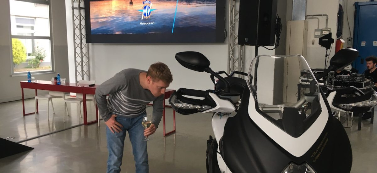 Premières impressions sur la MV Agusta Turismo Veloce 800 Lusso 2018