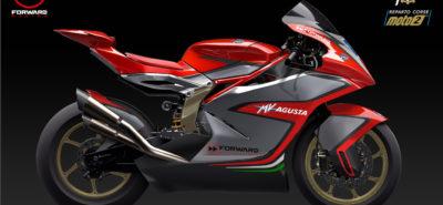 MV Agusta de retour dans le mondial de vitesse, avec Forward Racing :: CM Moto2 2019