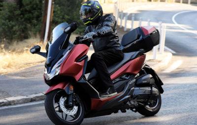 Forza 125: un mix de sport, de fun et de GT :: Test Scooter Honda