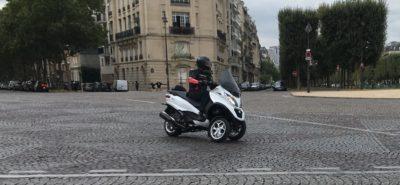 Premières impressions sur le nouveau MP3 500 (2018) à Paris :: Test Piaggio