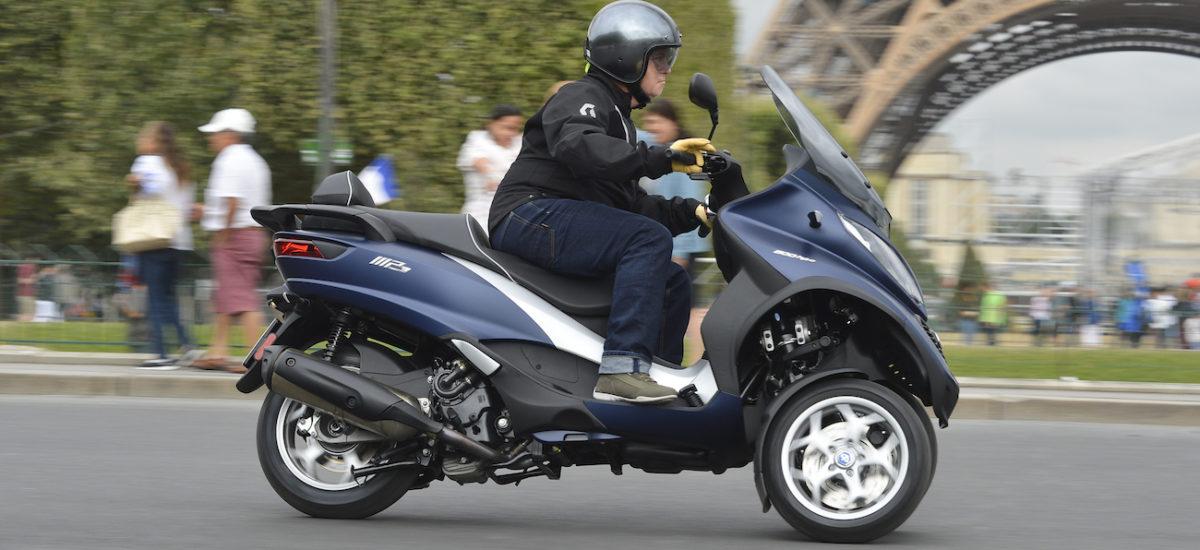 Le MP 3 500 hpe (2018), trois roues, moins de vent et plus de chevaux