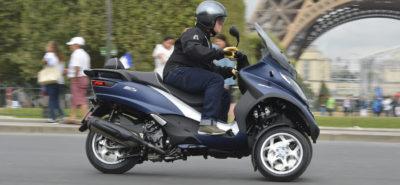 Le MP 3 500 hpe (2018), trois roues, moins de vent et plus de chevaux :: Piaggio