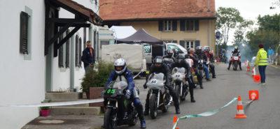 Les motos anciennes ont envahi Corcelles-le-Jorat (VD) :: course de côte oldtimer