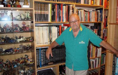 Une vie de passions et de moto dans son objectif :: Roger Lohrer