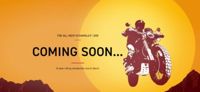 Triumph annonce travailler sur un Scrambler 1200 :: Nouveauté 2019