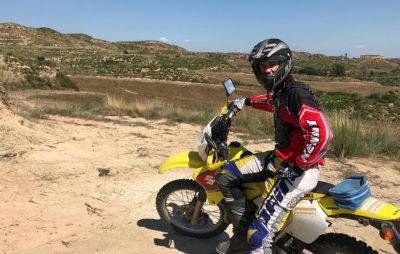 Sur la route du MotorLand, Matthieu Juttens réalise son rêve d'enduro :: MotoGP/People