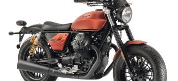 Nouvelle version Sport de la Moto Guzzi V9 Bobber révélée à l'Open House 2018