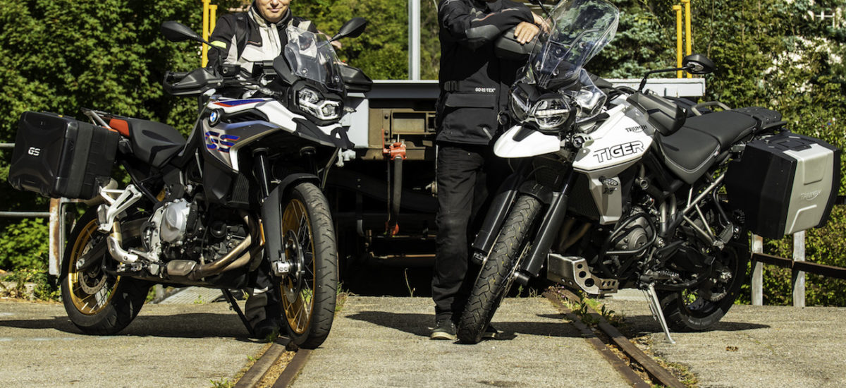 La BMW F 850 GS contre la Triumph Tiger 800