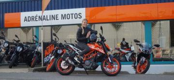 Fanny Smith, skieuse d'élite: «Sur la moto, je me sens plus libre»