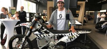 Mat Rebeaud veut faire le Dakar avec une électrique