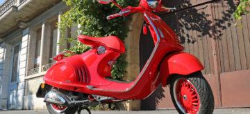 La 946 RED, une Vespa pas comme les autres