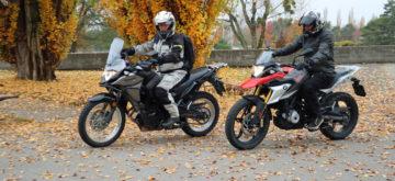 Duel des petites enduros de voyage: BMW G 310 GS vs Kawasaki Versys X