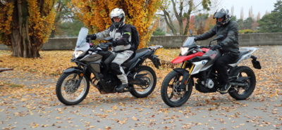 Duel des petites enduros de voyage: BMW G 310 GS vs Kawasaki Versys X :: Comparatif
