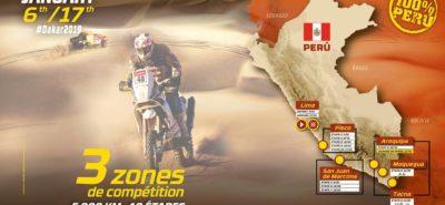 Voici le programme du Dakar 2019, au Pérou :: Rallye-Raid