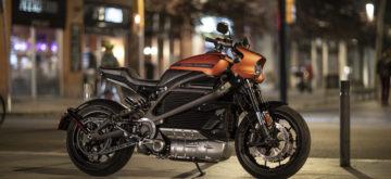 180 km d'autonomie annoncée pour la Harley électrique LiveWire