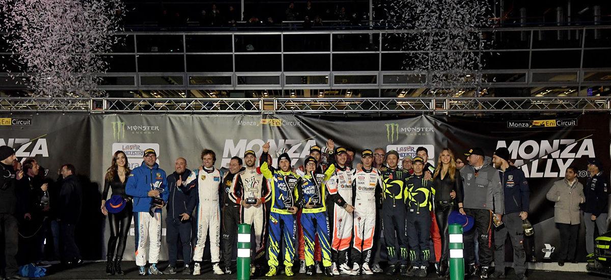 Valentino Rossi gagne le Monza Rally Show pour la 7e fois