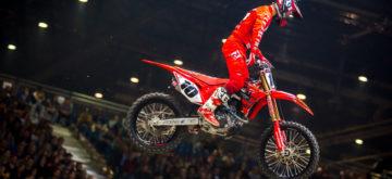 Justin Brayton Roi de Genève au Supercross, pour la cinquième fois