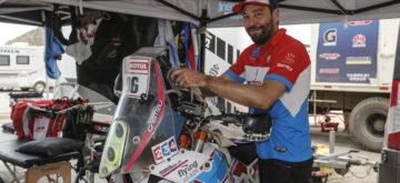 Nicolas Brabeck, résidant en Suisse, participe au Dakar 2019
