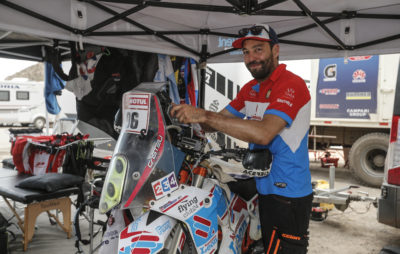 Nicolas Brabeck, résidant en Suisse, participe au Dakar 2019 :: Rallye-Raid 2019