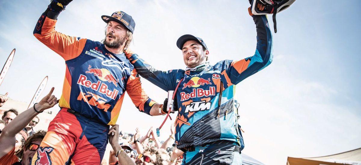 Toby Price et KTM remportent le Dakar, encore, devant Walkner et Sunderland
