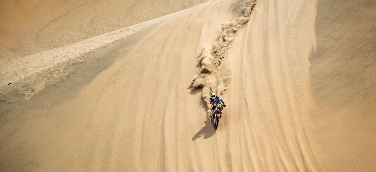 Dakar étape 2, le réveil des KTM et la victoire de Walkner