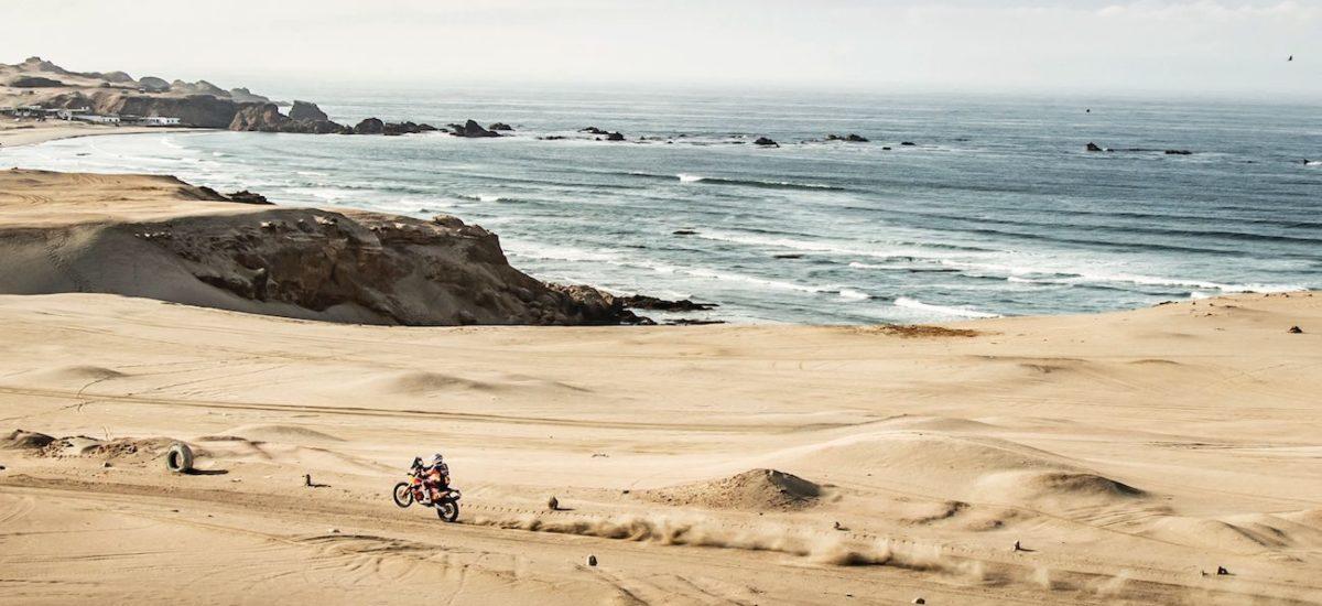 Dakar étape 7: pour Sam Sunderland, avec Ricky Brabec qui revient en tête